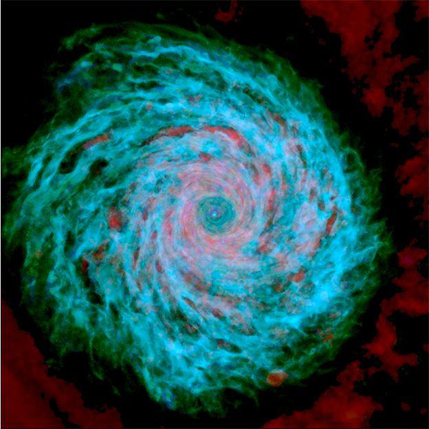 Imagen de galaxia