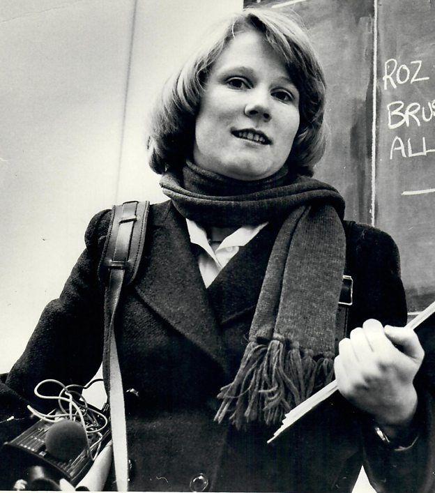 La periodista de la BBC Rosalind Morris