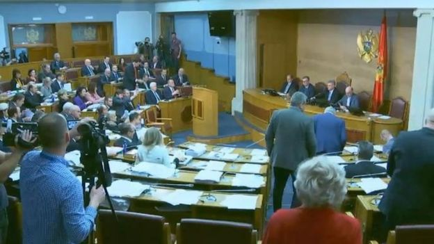 Parlament u Podgorici