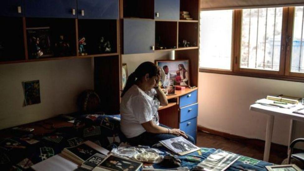 La habitación de Juan Pablo Pernalete