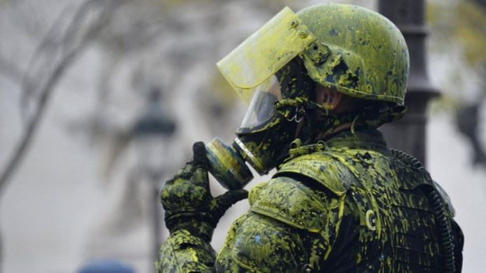 104580681 gettyimages 1067095736 - Mais de 200 pessoas são presas em confronto com a Polícia no 3º fim de semana de protestos em Paris