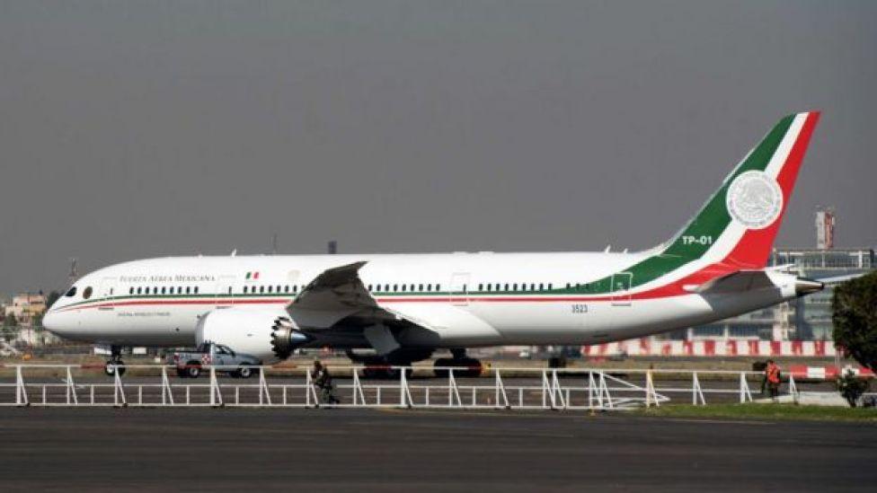 El Boeing 787 del gobierno de México