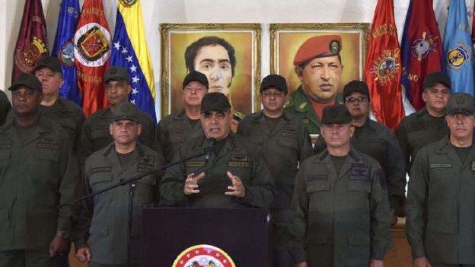 Hasta ahora, Maduro ha mantenido pleno respaldo de la FANB.