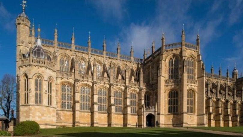 Fachada da Capela de São Jorge em Windsor