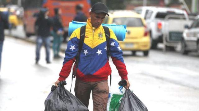 Venezolano migrante