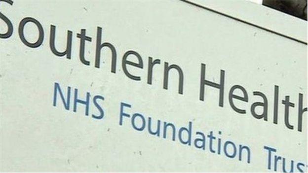 Southern Health logo