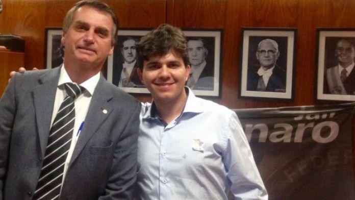 Jair Bolsonaro e Thiago Novais