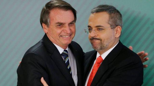 Bolsonaro e Weintraub