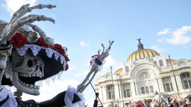 Celebraciones del Día de Muertos en octubre de 2016