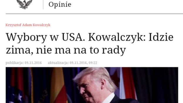 Image result for trump victory headlines around the world