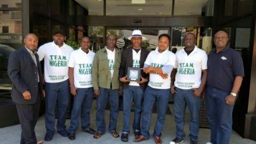Nigeria scrabble team