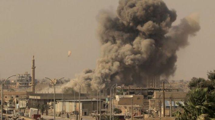 قصف لحي مدني في الموصل