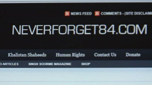 Jagtar's brother said he had done some work for the website Never Forget 84