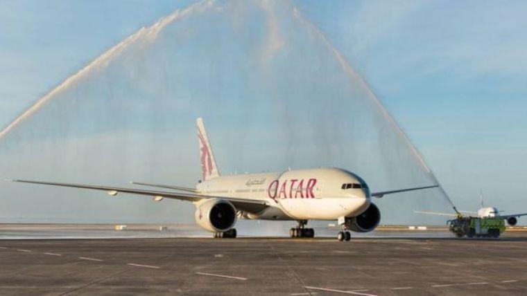 Boeing 777-200LR da Qatar Airways