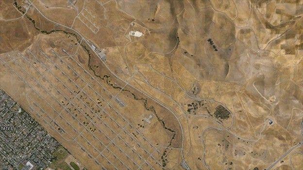 Google Maps view of GoMentum