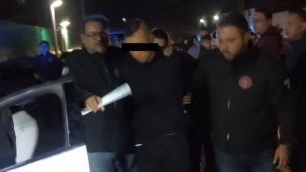 Detención de Óscar García°