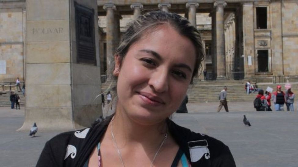 Nathalie Peña votará que No en el plebiscito, porque para ella se negoció una paz incompleta.