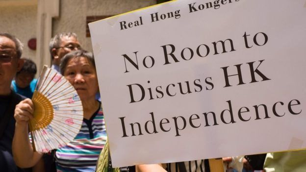 Rất ít sự ủng hộ những người theo phong trào ly khai ở Hong Kong