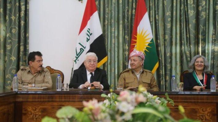 القيادات الكردية