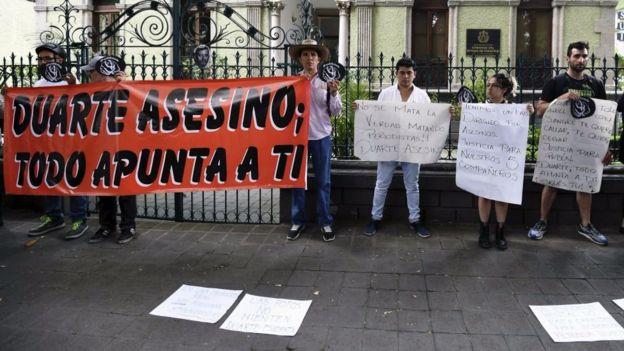 Durante el gobierno de Javier Duarte fueron asesinados 19 periodistas.