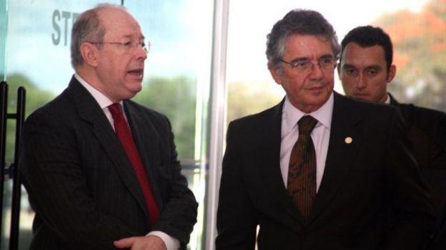 Celso de Mello e Marco Aurélio