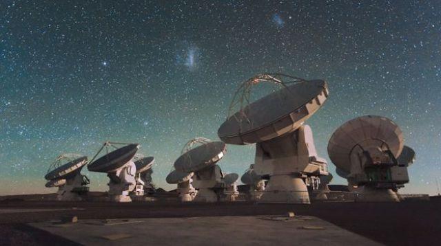O rádio-observatório Atacama Large Millimeter Array