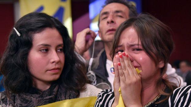 Activistas por el sí lamentan el resultado