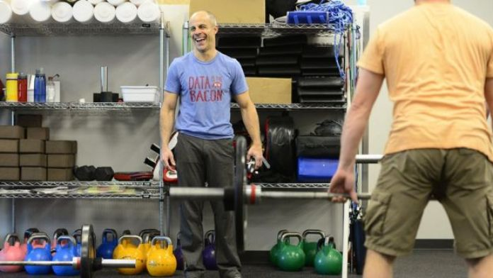 Tech executive Eric Roza credits CrossFit with changing his life a decade ago