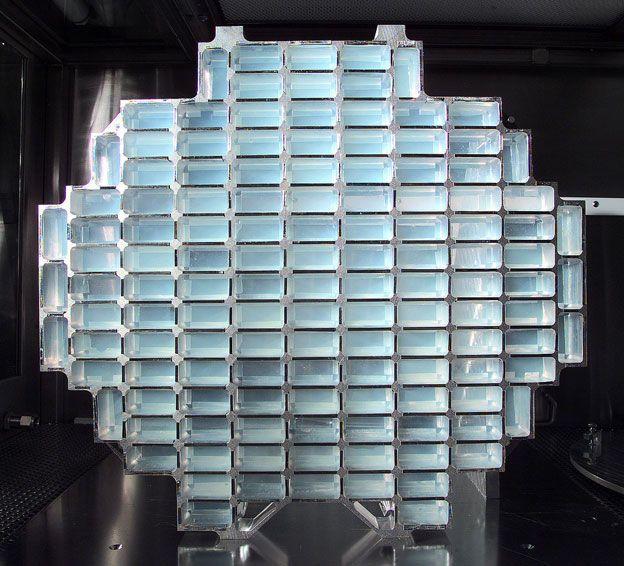 Aparato de la NASA con aerogel para atrapar partículas interestelares