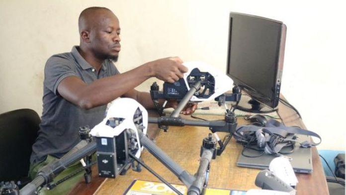 Réparateur de drone à Abidjan