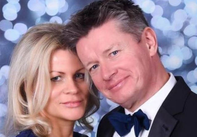Richard Mason and his current wife