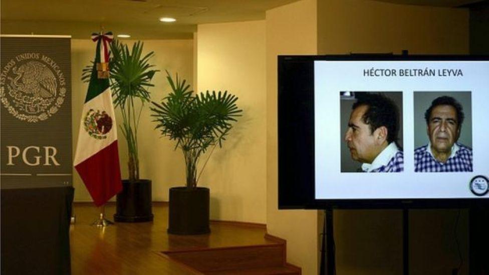 Foto de la captura de Héctor Betrán Leyva