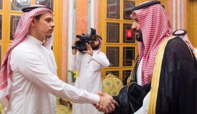 Dhaxal Sugaha Sacuudiga ayaa la kulmay wiilka Khashogg, ee Salah.