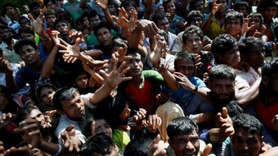 لاجئين من ميانمار
