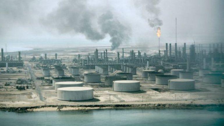 Refinería de Aramco, Arabia Saudita.