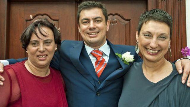 Bernadette et Shereen au mariage de Nathan