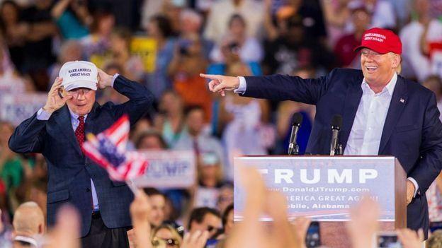 """عمد ترامب على التقليل من قيمة ترامب في الكثير من المناسبات ووصفه بانه """"ضعيف جداً"""" و""""مزعج""""."""