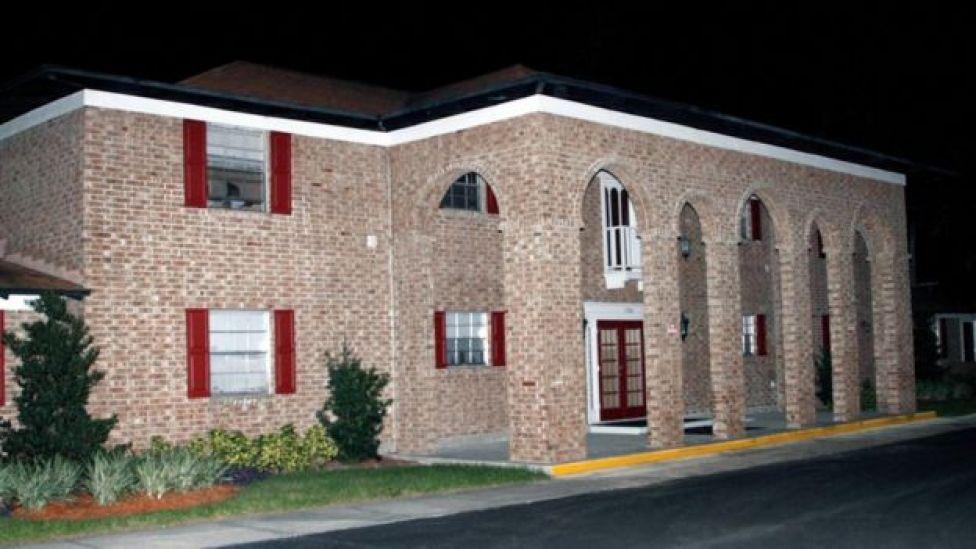 La casa del atacante en Tampa