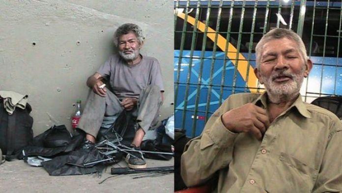 Antonio, ex-morador de rua