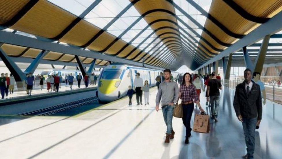 HS2 platforms