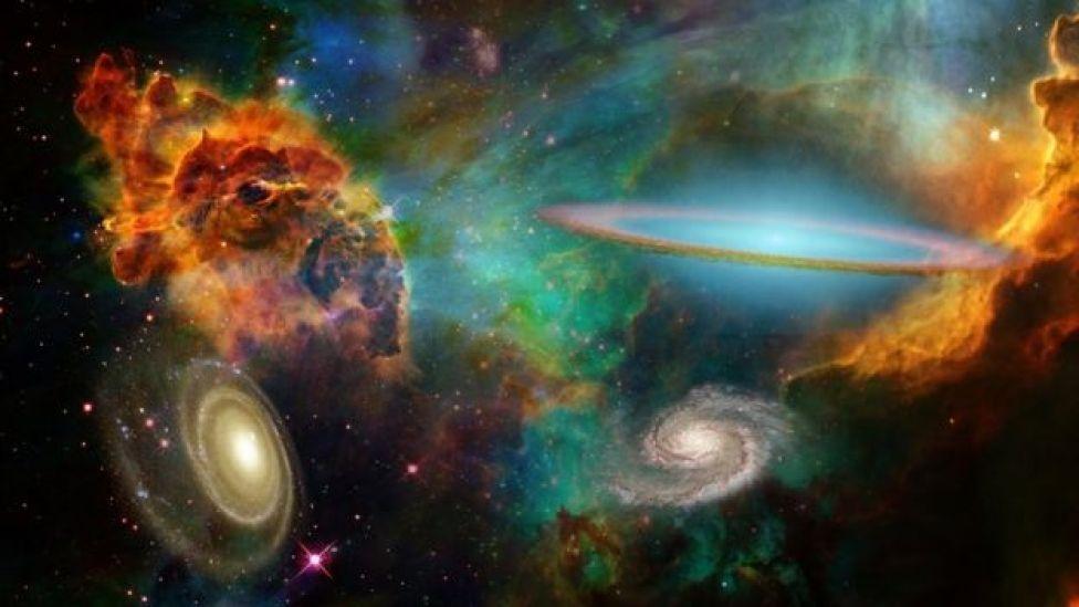 Evren'de çok sayıda galaksi var