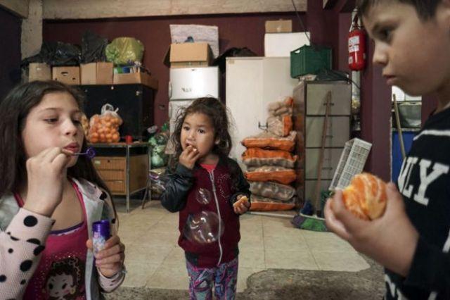 Crianças em Buenos Aires