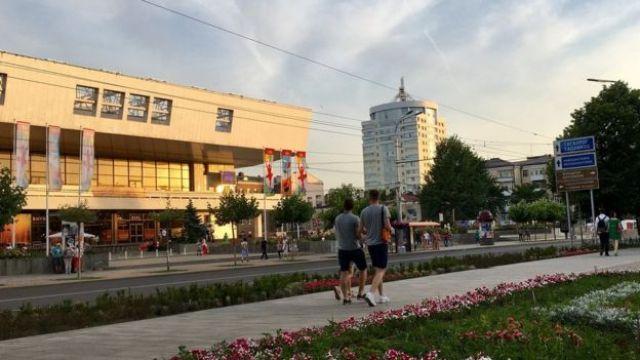 Área turística limpa e moderna usada pela Fifa