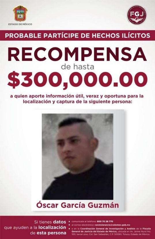 Ficha de búsqueda de Óscar García