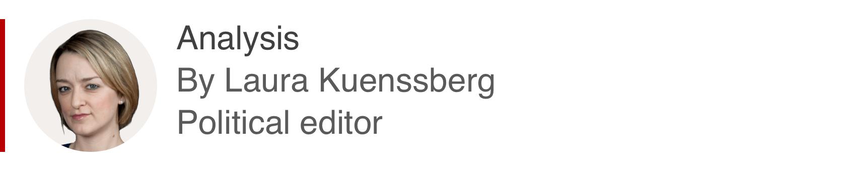 Caixa de análise de Laura Kuenssberg, editora política