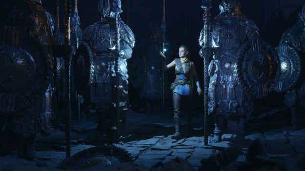 مشهد تم انجازه باستخدام Unreal Engine 5