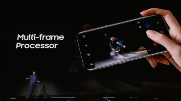 Multi-frame processor