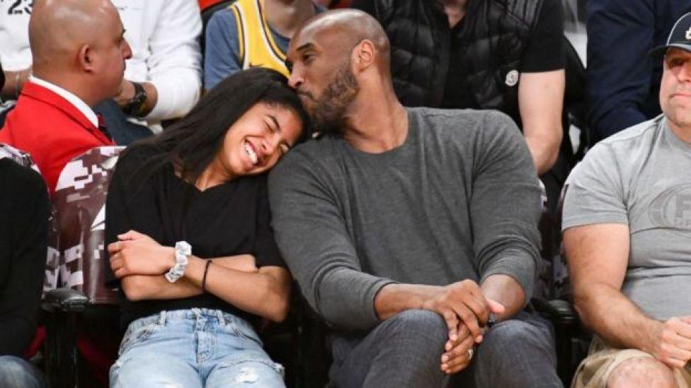 Gianna y Kobe Bryant