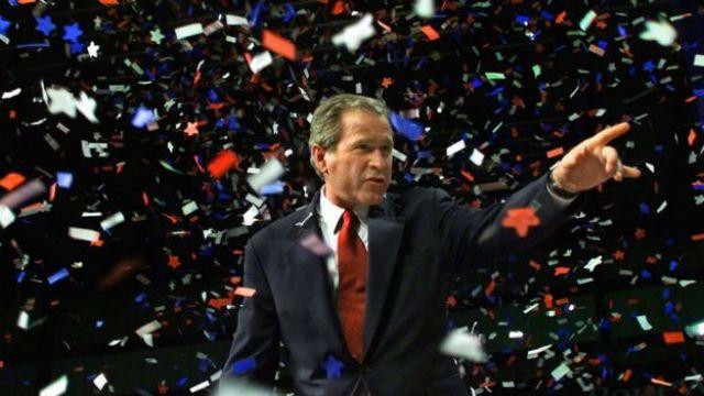 George Bush, 6 de noviembre del 2000.