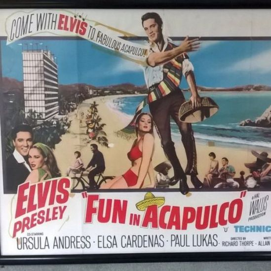 Cartel de la película Fun in Acapulco